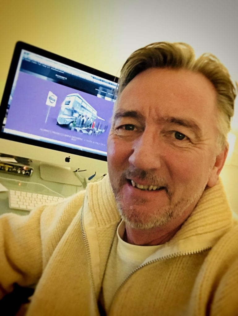 Nigel Benton, our branding and concept designer