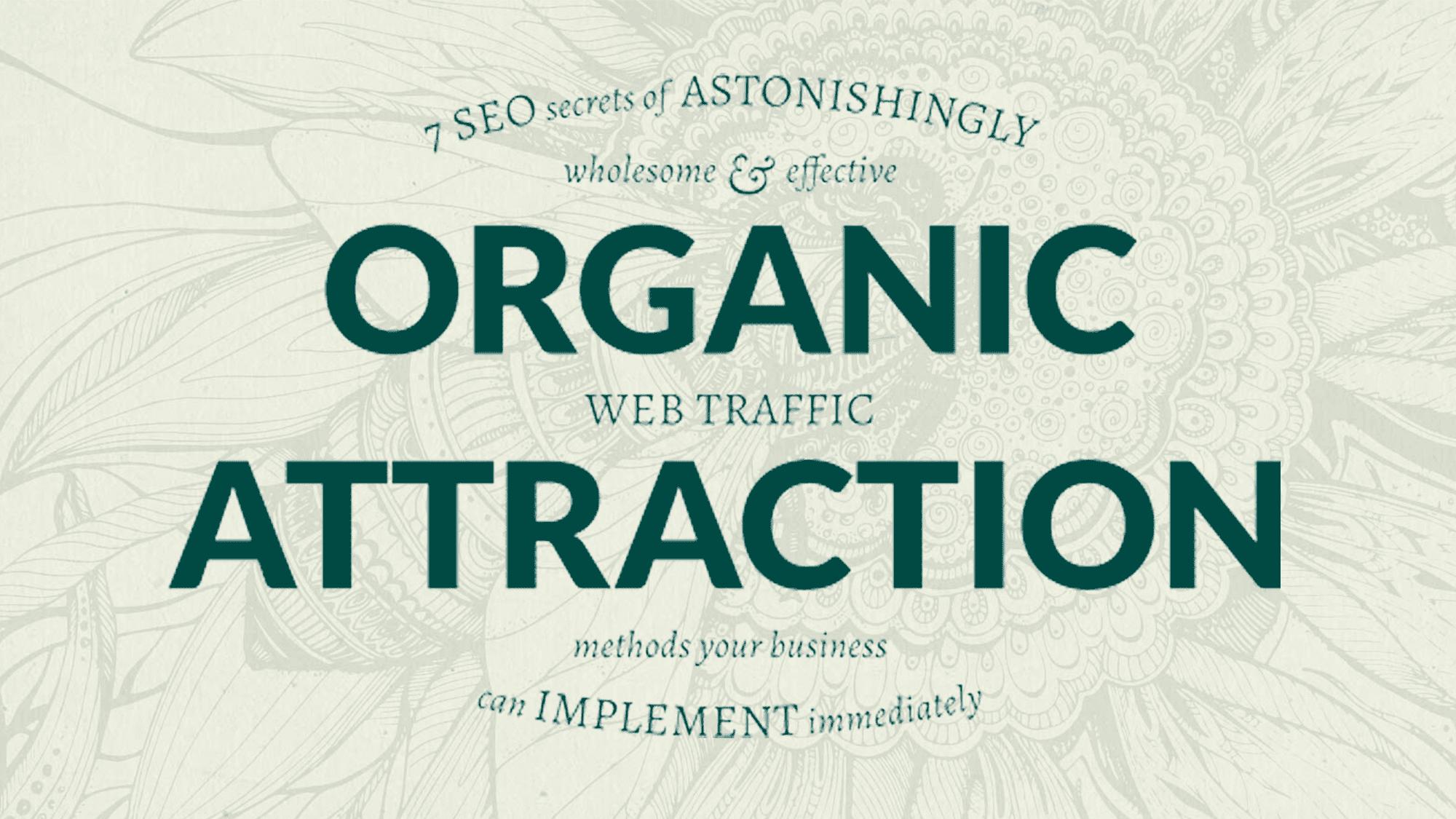 organic web traffic twitter header